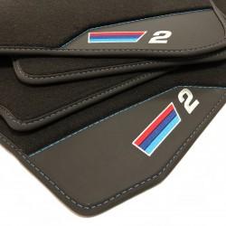 Le stuoie del pavimento, in Pelle BMW F22