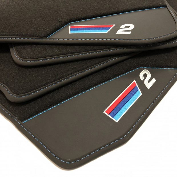 Floor mats, Leather BMW F22