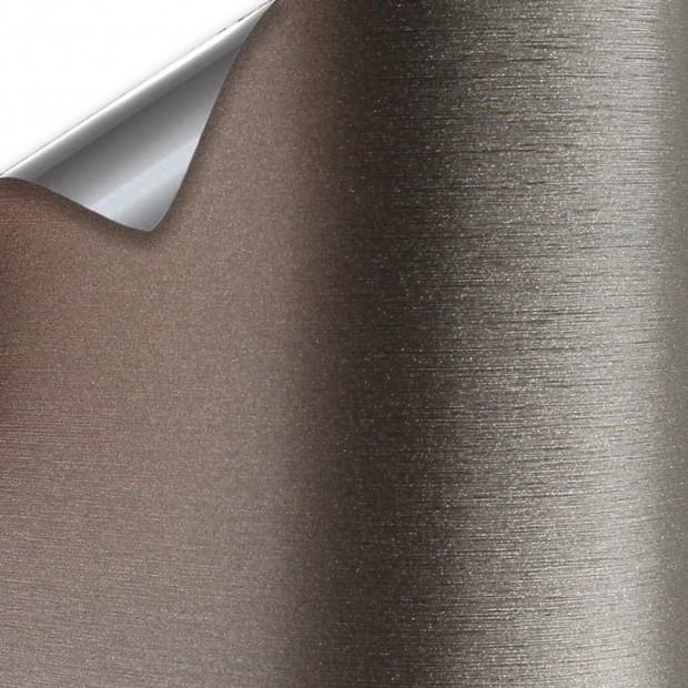 Vinyl Titanium Brushed - 25x152cm