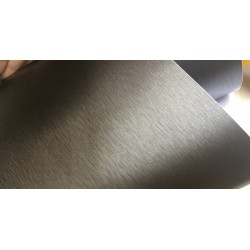 Vinyle en Titane Brossé - 25x152cm