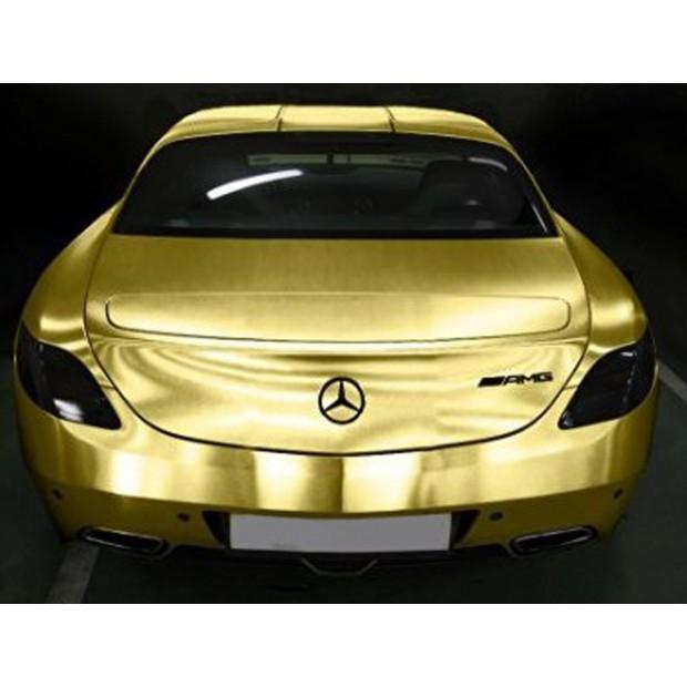 Oro vinile spazzolato auto - 100x152cm