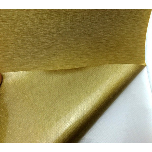 Vinil dourado Escovado 75x152cm