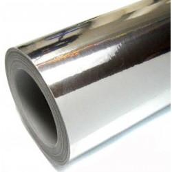 Vinyle Chrome Argent 25x152 cm