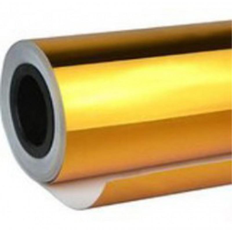 Vinyl Chrome Gold 25x152 cm