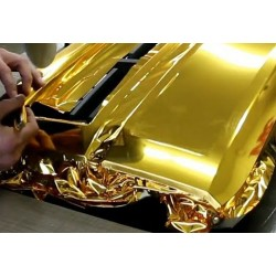 Vinyl Chrome Gold 25x152 cm