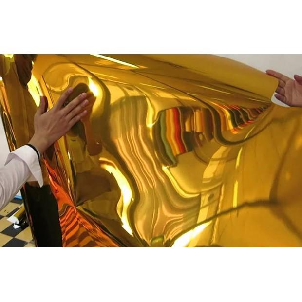 Vinile Cromato Oro 25x152 cm