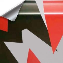 Vinyl Camo Arctic dach auto