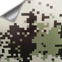 Vinil de pixel Camo 25 x 152 cm