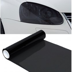 Vinyl headlights and pilots black 70%, 100x30 cm