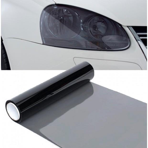 Vinyle phares et les pilotes noir 20%, 100x30 cm