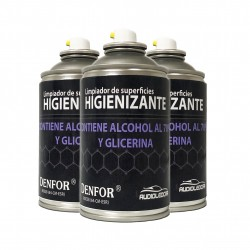 Kit 3 sprays Higienizantes en base alcohol 250 ml