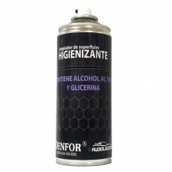 Spray Higienizante auf basis alkohol, 400 ml