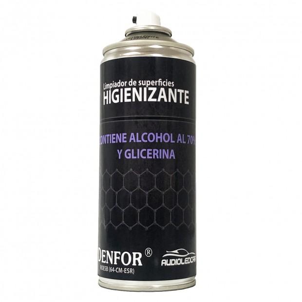 Spray Higienizante auf basis alkohol, 400 ml