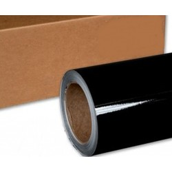 Vinyl Gloss Black 75x152cm