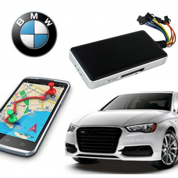 Kit de localisation GPS BMW: installation + maintenance + cortacorrientes