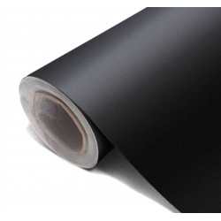 Vinyl Matte Black 25x152cm