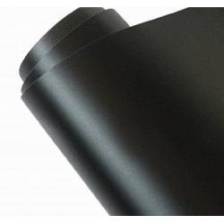 Vinyl Matte Black 500x152cm