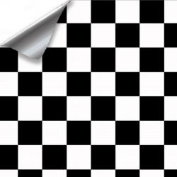 Vinyl Schach-Helligkeit - 1500x152cm (komplettes auto)