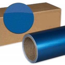 Vinyle Bleu Métallisé - 300x152cm