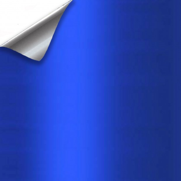 Vinyle Bleu Métallisé - 100x152cm