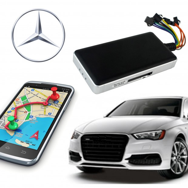 GPS locator Mercedes