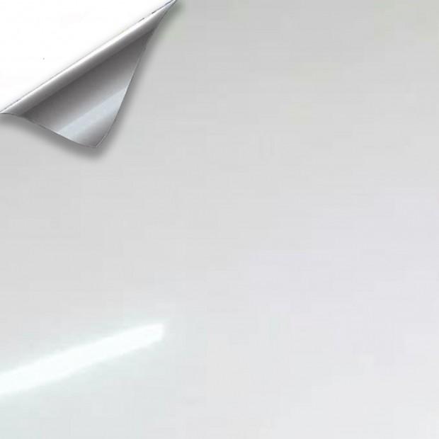 Vinyl Weiß Glanz 200x152cm (Dach komplett)