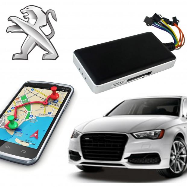 GPS locator peugeot