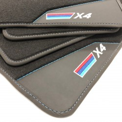 Floor mats, Leather BME X4 F26