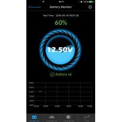 Tester di batterie utilizzando un App mobile