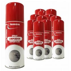 Kit 12 spray igienizzanti, industriale e domestico 70% di alcol e di Spearman®