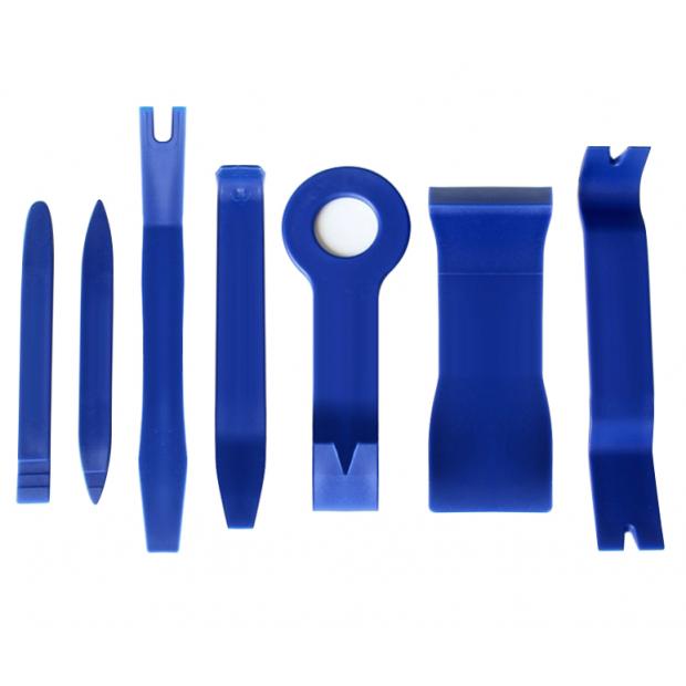 Kit de herramientas para desmontaje del coche (grapas, interiores, plásticos, paneles, plafones y luces)
