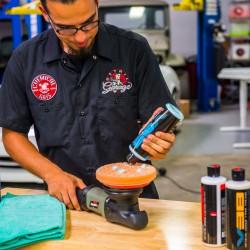Polishing the VSS Scratch & Swirls Remover - Chemical Guys