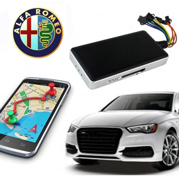 GPS locator alfa romeo