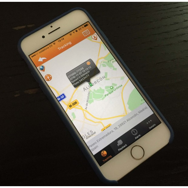 GPS locator Porsche