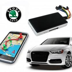 Localisateur GPS Skoda