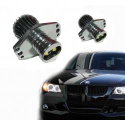 Kit de yeux d'ange LED 20W pour BMW de E90-E91 2005/2008 - Type 4
