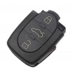 Controle de 3 botões 4DO 837 231 N - 433,92 MHZ para AUDI A3, A4, A6, A8 e TT