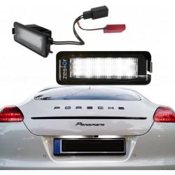 Plafones LED matrícula Porsche Panamera