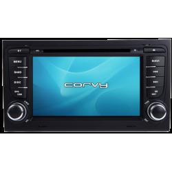 "Navegador GPS Audi A4 B7 (2004-2008), Wince 7"" com DVD - Corvy®"