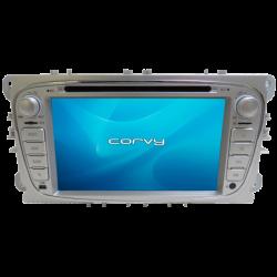 "Navegador GPS Ford C-MAX (2007-2011), Wince 7"" com DVD - Corvy®"