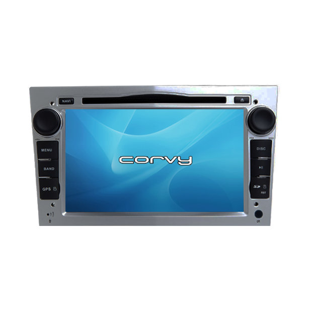 "De navigation GPS-Opel Tigra B, finition gris (2004-2009), Wince 7"" avec lecteur DVD - Corvy®"