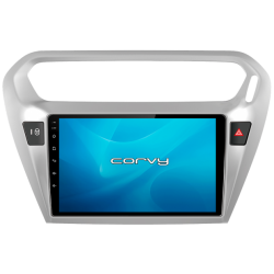 "GPS navigator Peugeot 301 (2014-2017), Android 9"" - Corvy®"