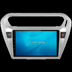 """Navigateur GPS Peugeot 301 (2014-2017), Android 9"""" - Corvy®"""