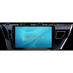 "GPS-navigator, Toyota Corolla 11, Reihe 160/170 (2014-2016), Android 10,1"" - Corvy®"