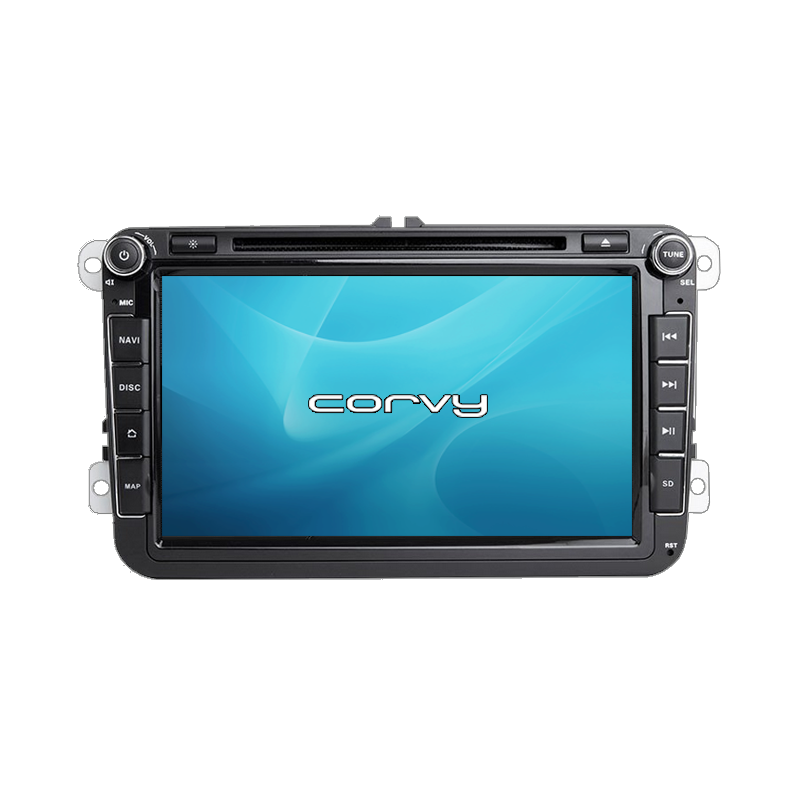 """GPS Volkswagen Transporter T6 (2014-present), Wince 8"""" with DVD - Corvy®"""