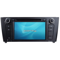 "GPS navigator BMW 1 Series, E81 E82 E87 E88 (2004-2011), Android 7"" with DVD - Corvy®"