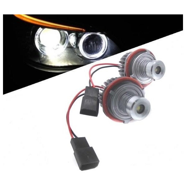 Kit ojos de angel en LED 10W para BMW E60 - Tipo 11