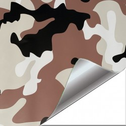Vinyle Camouflage sable 25...