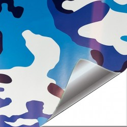 Vinile Camouflage oceano 75...
