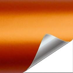 Vinyle Orange mat chromé...